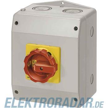 Siemens Haupt-/Not-Aus-Schalter 6p 3LD2165-3VB53