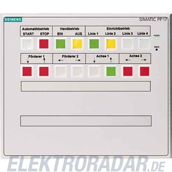 Siemens Push Button Panel PP17 I 6AV3688-3CD13-0AX0