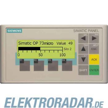 Siemens Operatorpanel OP73 Mirco 6AV6640-0BA11-0AX0