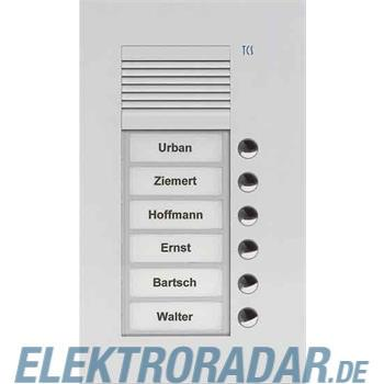 TCS Tür Control Audio Außenstation PUK 6 PUK06/1-ES