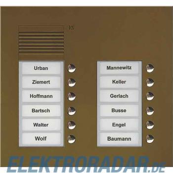 TCS Tür Control Audio Außenstation PUK 12 PUK12/2-EB