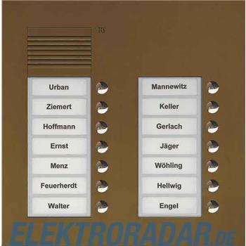 TCS Tür Control Audio Außenstation PUK 14 PUK14/2-EB
