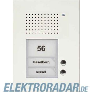 TCS Tür Control Audio Außenstation PUK 2 PUK02/1-WS