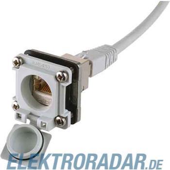 Telegärtner RJ45 Ind.IP67 EB-Flansch J00029A0040