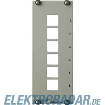 Telegärtner Teilfrontplatte 3HE/7TE H02024A8101