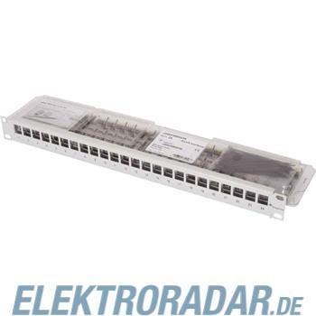 Telegärtner 19Z.-Modulträger sw Cat.6 AMJ-Mod 24PP sw