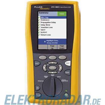 Fluke Networks Aktion Kabeltester DTX-1800-MSO/T