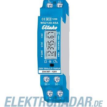 Eltako Wechselstromzähler WSZ12D-65A