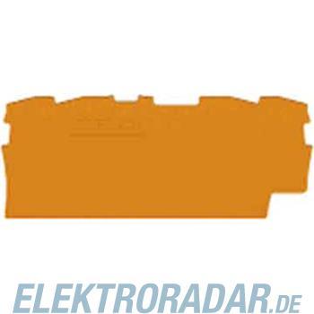 WAGO Kontakttechnik Abschluss-u.Zwischenplatte 2002-1491