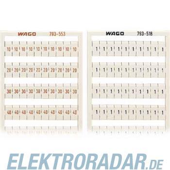 WAGO Kontakttechnik WMB-Bezeichnungssystem 793-518