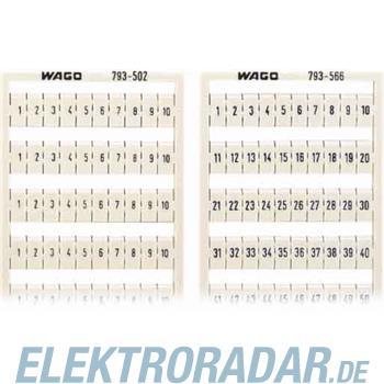 WAGO Kontakttechnik WMB-Bezeichnungssystem 793-569