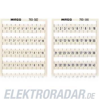 WAGO Kontakttechnik WMB-Bezeichnungssystem 793-570