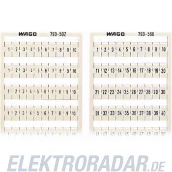 WAGO Kontakttechnik WMB-Bezeichnungssystem 793-571
