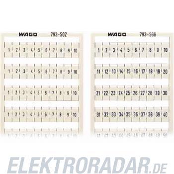 WAGO Kontakttechnik WMB-Bezeichnungssystem 793-572