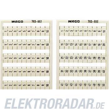 WAGO Kontakttechnik WMB-Bezeichnungssystem 793-602