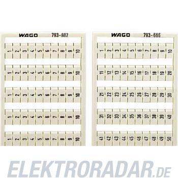 WAGO Kontakttechnik WMB-Bezeichnungssystem 793-603