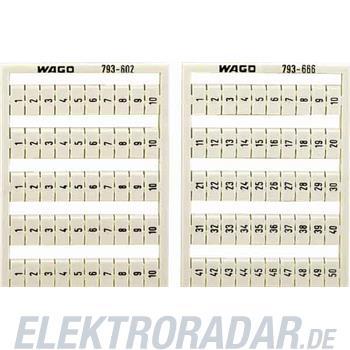 WAGO Kontakttechnik WMB-Bezeichnungssystem 793-604