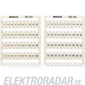 WAGO Kontakttechnik WMB-Bezeichnungssystem 793-605