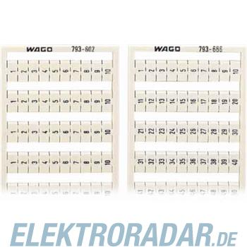 WAGO Kontakttechnik WMB-Bezeichnungssystem 793-606
