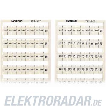 WAGO Kontakttechnik WMB-Bezeichnungssystem 794-601