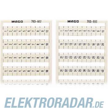 WAGO Kontakttechnik WMB-Bezeichnungssystem 794-602