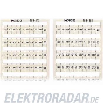 WAGO Kontakttechnik WMB-Bezeichnungssystem 794-603