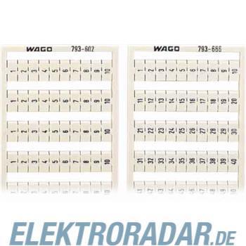 WAGO Kontakttechnik WMB-Bezeichnungssystem 793-609
