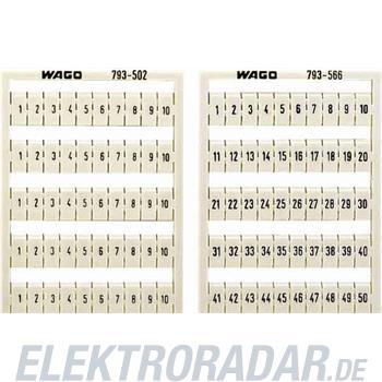 WAGO Kontakttechnik WMB-Bezeichnungssystem 793-511
