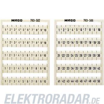 WAGO Kontakttechnik WMB-Bezeichnungssystem 793-507
