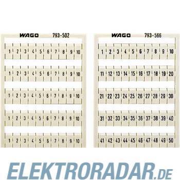 WAGO Kontakttechnik WMB-Bezeichnungssystem 793-502