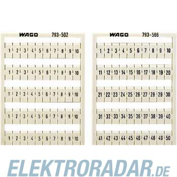 WAGO Kontakttechnik WMB-Bezeichnungssystem 793-574