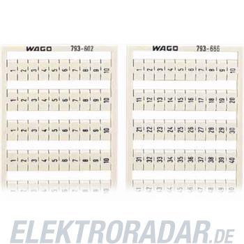 WAGO Kontakttechnik WMB-Bezeichnungssystem 793-607