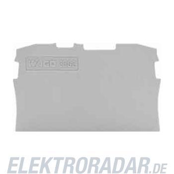 WAGO Kontakttechnik Abschluss-/Zwischenplatte 2004-1291