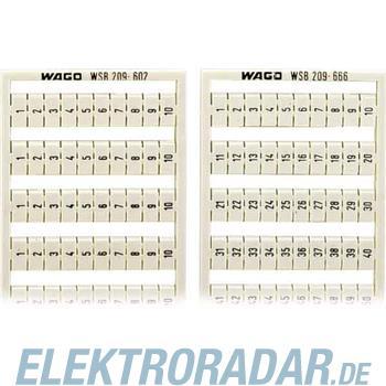WAGO Kontakttechnik WSB-Bezeichnungssystem 209-602