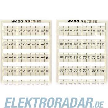 WAGO Kontakttechnik WSB-Bezeichnungssystem 209-603