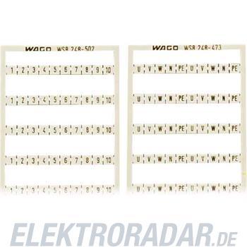WAGO Kontakttechnik WSB-Bezeichnungskarte 248-501