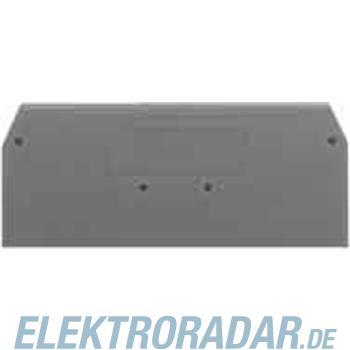 WAGO Kontakttechnik Abschlußplatte 280-326