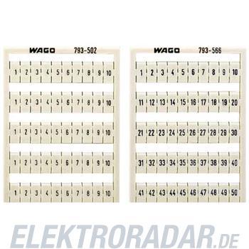 WAGO Kontakttechnik WSB-Bezeichnungssystem 209-501