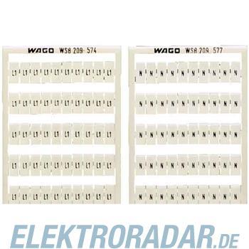 WAGO Kontakttechnik WSB-Bezeichnungssystem 209-552