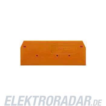WAGO Kontakttechnik Abschluss-/Trennplatte 280-371