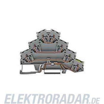 WAGO Kontakttechnik Vierstock-Reihenklemme 281-530