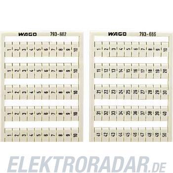 WAGO Kontakttechnik WMB-Bezeichnungssystem 793-666