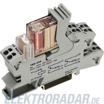 WAGO Kontakttechnik Stecksockel m.Relais 788-334
