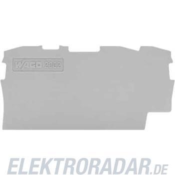 WAGO Kontakttechnik Abschluss-u.Zwischenplatte 2004-1391