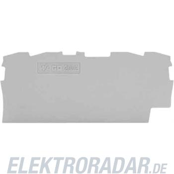 WAGO Kontakttechnik Abschluss-u.Zwischenplatte 2004-1491