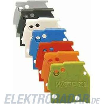WAGO Kontakttechnik Abschlussplatte 255-100