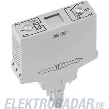WAGO Kontakttechnik Relaisstecker 286-380