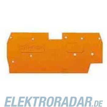 WAGO Kontakttechnik Abschlussplatte grau 290-301