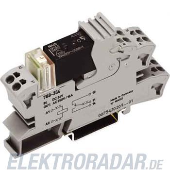 WAGO Kontakttechnik Stecksockel m.Relais 788-354