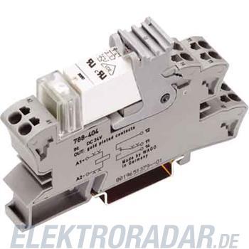 WAGO Kontakttechnik Stecksockel m.Relais 788-404